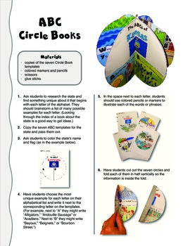 The ABCs of Kansas: A Circle Book Foldable by GravoisFare