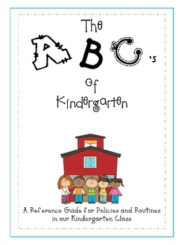 The ABC's of Kindergarten
