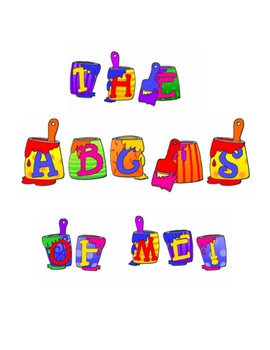 The ABC's of Me - A Literacy Center