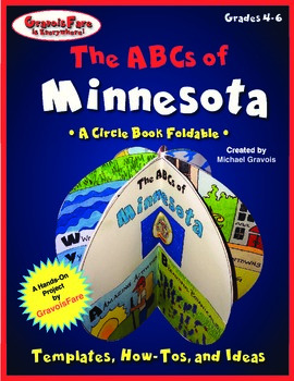The ABCs of Minnesota: A Circle Book Foldable by GravoisFare