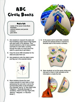 The ABCs of Montana: A Circle Book Foldable by GravoisFare