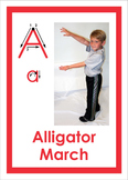 ABC's of Movement activity cards