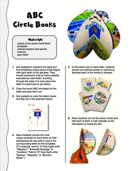 The ABCs of Nebraska: A Circle Book Foldable by GravoisFare