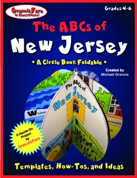 The ABCs of New Jersey: A Circle Book Foldable by GravoisFare