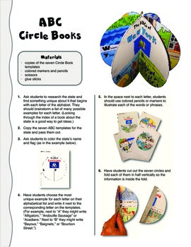 The ABCs of New York: A Circle Book Foldable by GravoisFare