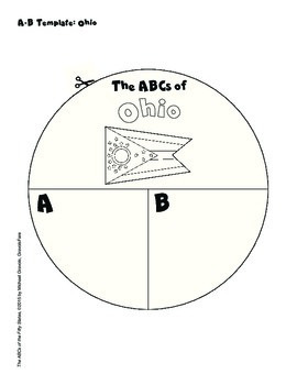 The ABCs of Ohio: A Circle Book Foldable by GravoisFare