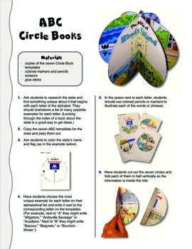 The ABCs of Rhode Island: A Circle Book Foldable by GravoisFare