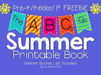 The ABC's of Summer {Kinder/1st Printable Book} End of Year Resource