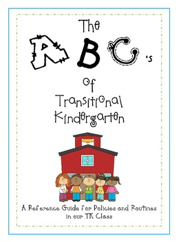 The ABC's of Transitional Kindergarten