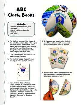 The ABCs of Virginia: A Circle Book Foldable by GravoisFare