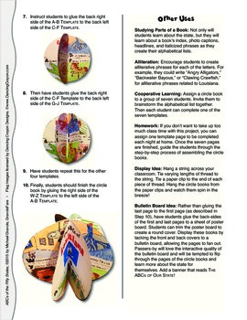 The ABCs of West Virginia: A Circle Book Foldable by GravoisFare
