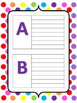 The ABC's of Math Personal Dictionary for Kids CREATE YOUR OWN DICTIONARY