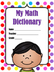 The ABC's of Math Personal Dictionary for Kids CREATE YOUR