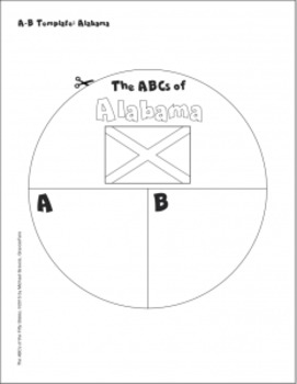 50 States -- The ABCs of the Fifty States: A Circle Book for Every State