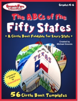 50 States -- The ABCs of the Fifty States: A Circle Book f