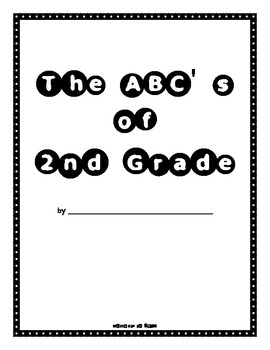 The ABCs of the Year - An End of the Year Activity