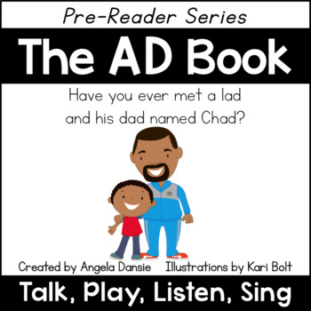 The AD Book and Games (Word Family Pre-Reader Series)
