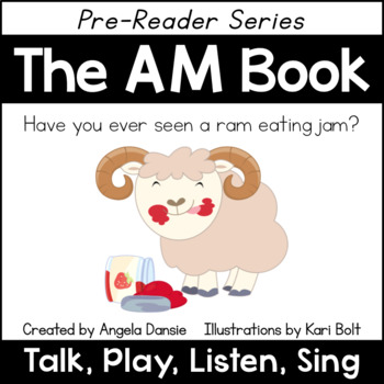 The AM Book and Games (Word Family Pre-Reader Series)