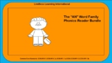 """The """"AN"""" Word Family Phonics Reader Bundle"""