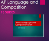 The AP Language and Composition Exam Strategies PPT Writin