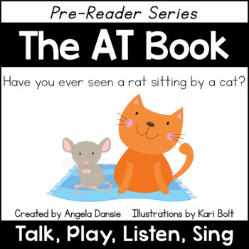 The AT Book and Games (Word Family Pre-Reader Series)
