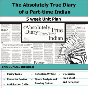 The Absolutely True Diary of a Part-Time Indian Unit Bundle