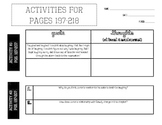 The Absolutely True Diary of a Part-Time Indian: Activities for Pages 197-218