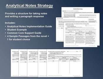 Absolutely True Diary of a Part-Time Indian: Analytical Notes Strategy