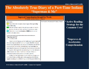 """The Absolutely True Diary of a Part-Time Indian: Article """"Superman & Me"""""""