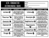 The Absolutely True Diary of a Part-Time Indian: Character Astrological Signs