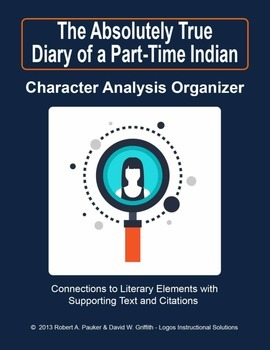 Absolutely True Diary of a Part-Time Indian: Character Analysis Organizer