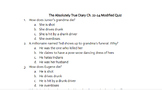 The Absolutely True Diary of a Part-Time Indian Reading Quizzes