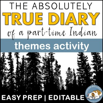 The Absolutely True Diary of a Part-time Indian Themes Tex