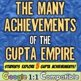 Ancient India & the Gupta Empire: Students analyze 5 major Gupta contributions!