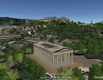 The Acropolis with Google Earth Tours