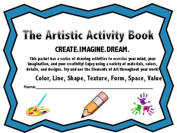 The Activity Packet: Activity Coloring Book for Primary Students