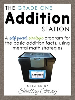 The Addition Station {Grade 1}