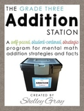 The Addition Station {Third Grade}