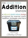The Addition Station {Third Grade}