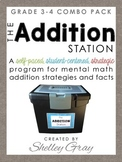 The Addition Station {Grades 3-4 Combo Pack}