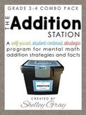 The Addition Station {Grades 3-4 Combo Pack} BUNDLE