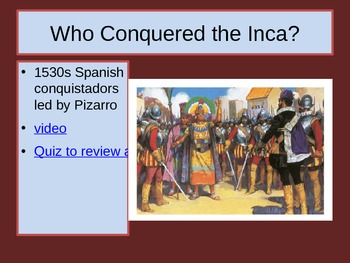 The Advanced Civilization of the Inca PowerPoint
