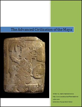 The Advanced Civilization of the Maya Differentiated Instruction Lesson Plan