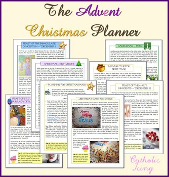 The Advent and Christmas Planner