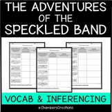 The Adventure of The Speckled Band--Vocabulary Building