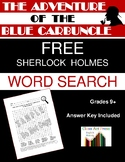 The Adventure of the Blue Carbuncle: Sherlock Holmes Word