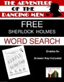 The Adventure of the Dancing Men: Sherlock Holmes Word Sea