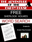 The Adventure of the Empty House: Sherlock Holmes Word Sea