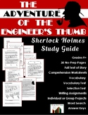 The Adventure of the Engineer's Thumb: Sherlock Holmes Close Reading Study Guide