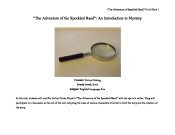 """""""The Adventure of the Speckled Band"""": An Introduction to Mystery"""